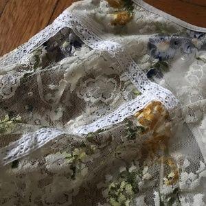 Bohemian lace blouse